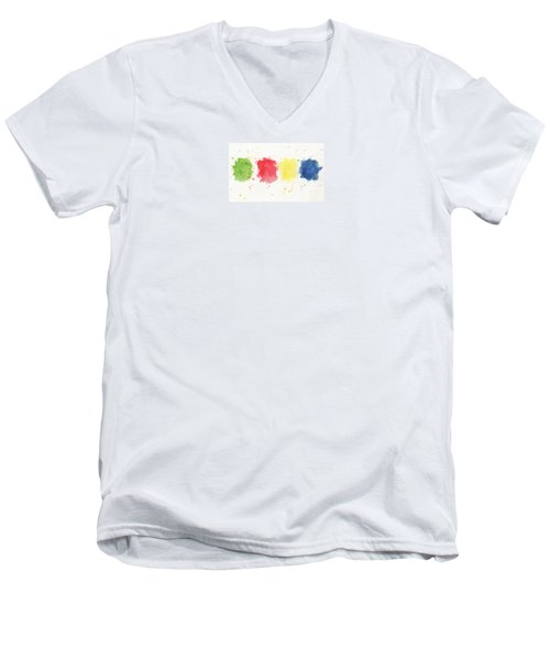 Simple Men's V-Neck T-Shirt