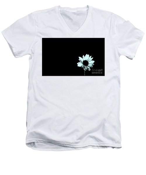 Men's V-Neck T-Shirt featuring the photograph Simplicity  by Juls Adams