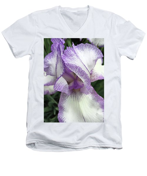 Simply Beautiful Men's V-Neck T-Shirt by Sherry Hallemeier