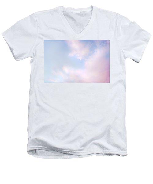 Simply Heavenly Men's V-Neck T-Shirt by Theresa Tahara