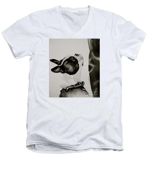 Simply  Men's V-Neck T-Shirt