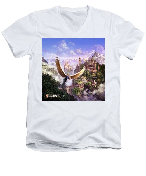 Simurgh Men's V-Neck T-Shirt