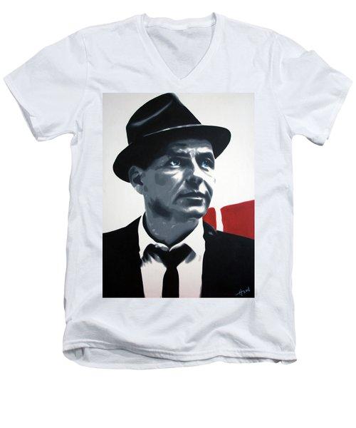 Sinatra Men's V-Neck T-Shirt