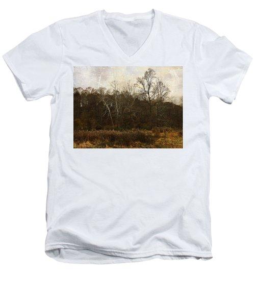 Sing To Me Autumn Men's V-Neck T-Shirt