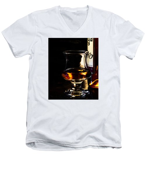 Sipping Rum Men's V-Neck T-Shirt