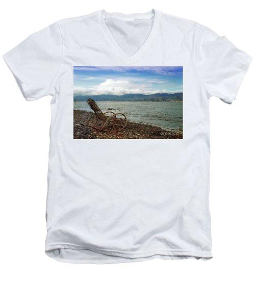 Sit Back And Enjoy Men's V-Neck T-Shirt