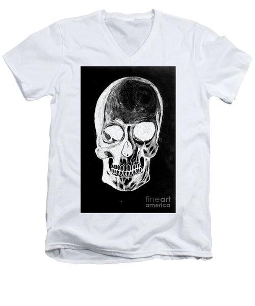 Skull Study 3 Men's V-Neck T-Shirt