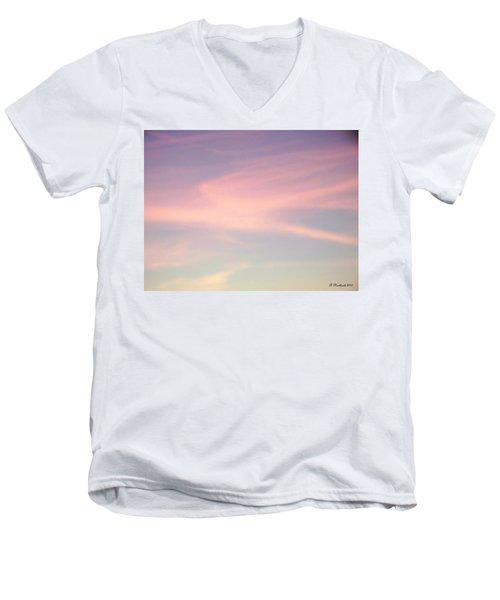 Men's V-Neck T-Shirt featuring the photograph Sky Dancer by Betty Northcutt