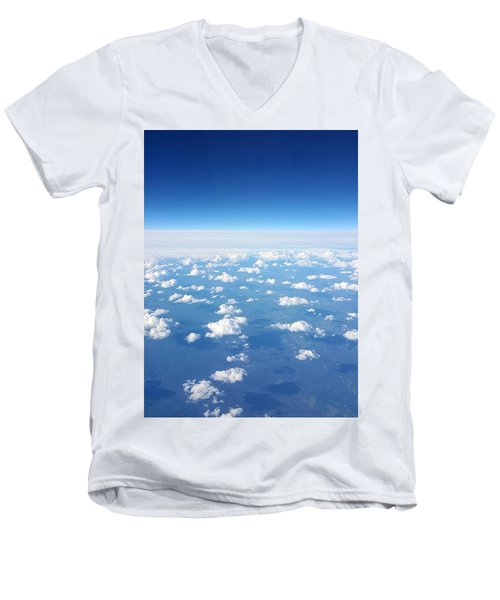 Sky Life Men's V-Neck T-Shirt