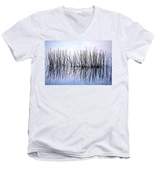 Sky Needles Men's V-Neck T-Shirt