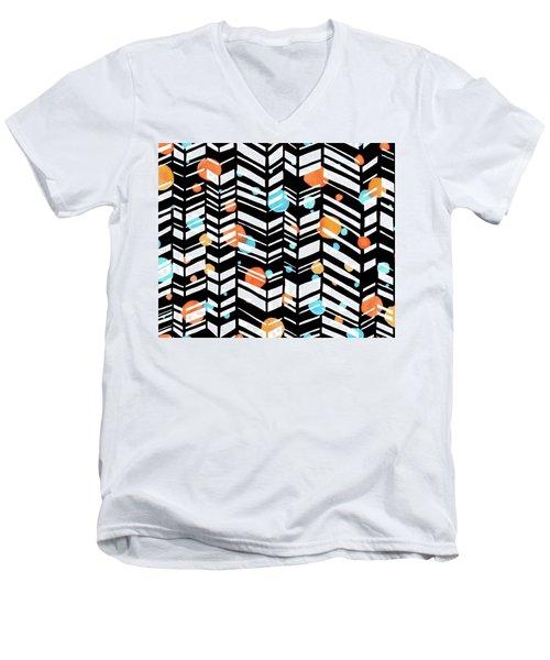 Smile More Men's V-Neck T-Shirt