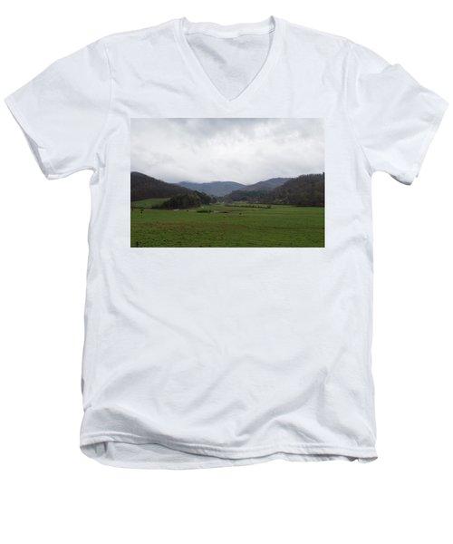Smokey Mountains 3 Men's V-Neck T-Shirt