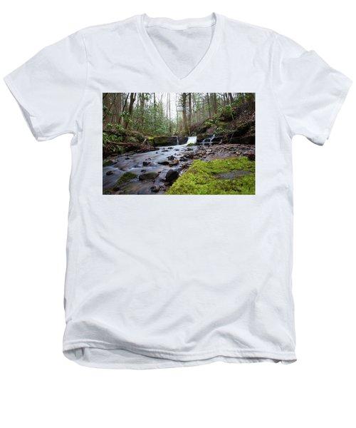 Smokey Mountains 4 Men's V-Neck T-Shirt