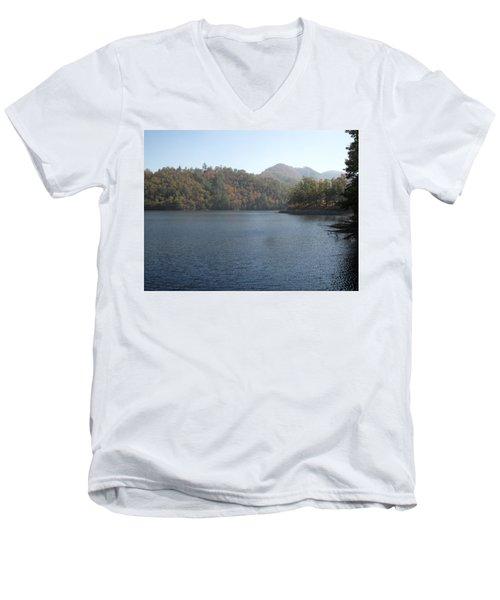 Smokies 14 Men's V-Neck T-Shirt by Val Oconnor