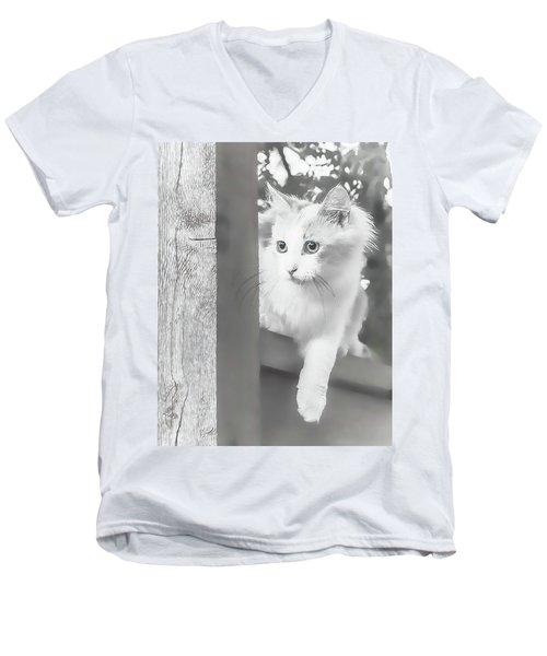 Sneak Peek Men's V-Neck T-Shirt