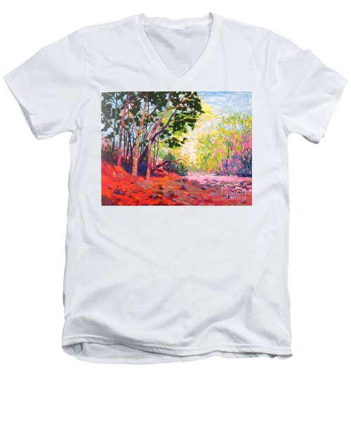 Snoqualmie Story Men's V-Neck T-Shirt