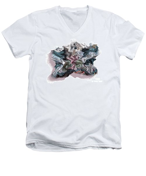 Snow Capped Cloth Men's V-Neck T-Shirt