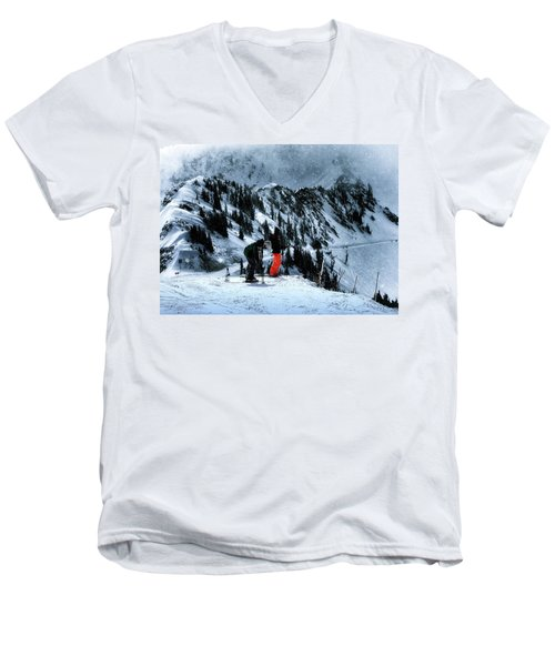 Snowbird Men's V-Neck T-Shirt