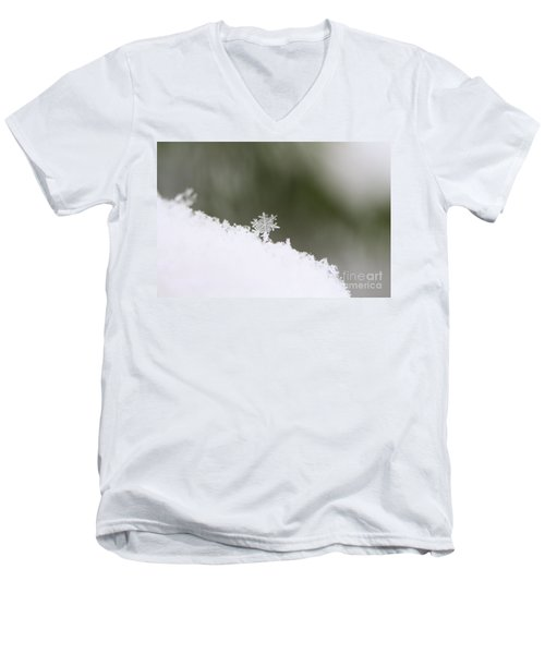Snowflake Men's V-Neck T-Shirt