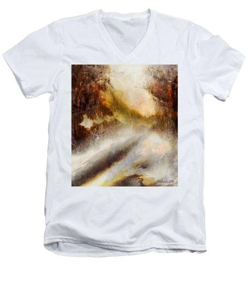 Snowy Impression Men's V-Neck T-Shirt