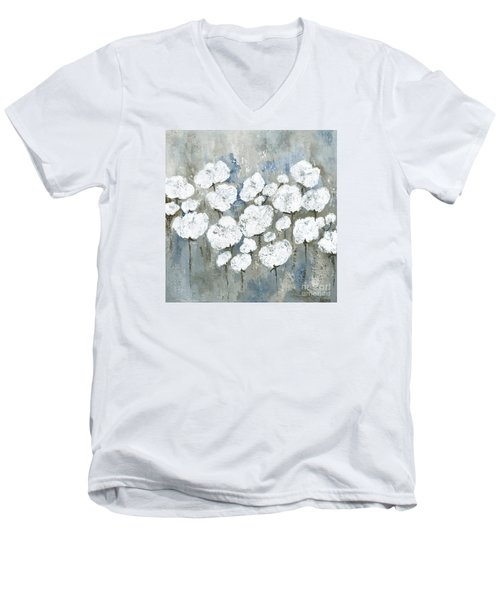 Snowy Mississippi Summer Men's V-Neck T-Shirt by Kirsten Reed