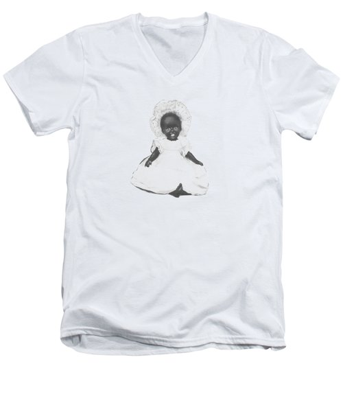 So Clean And White Men's V-Neck T-Shirt