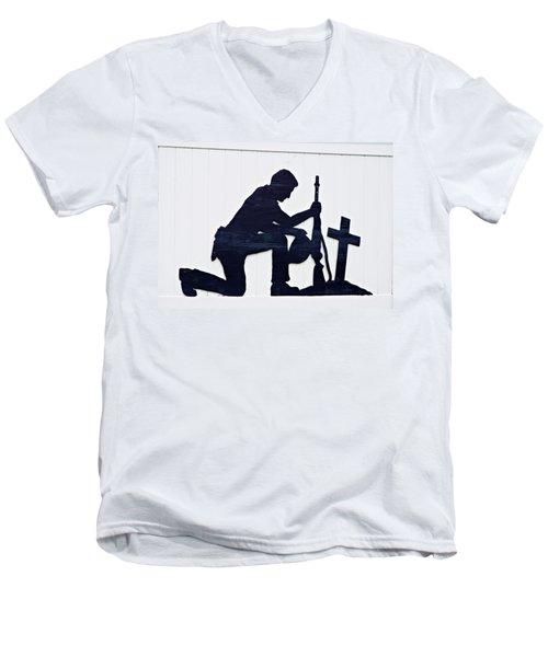 So Sad Men's V-Neck T-Shirt