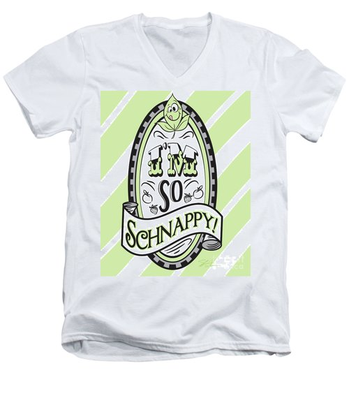 So Schnappy Men's V-Neck T-Shirt