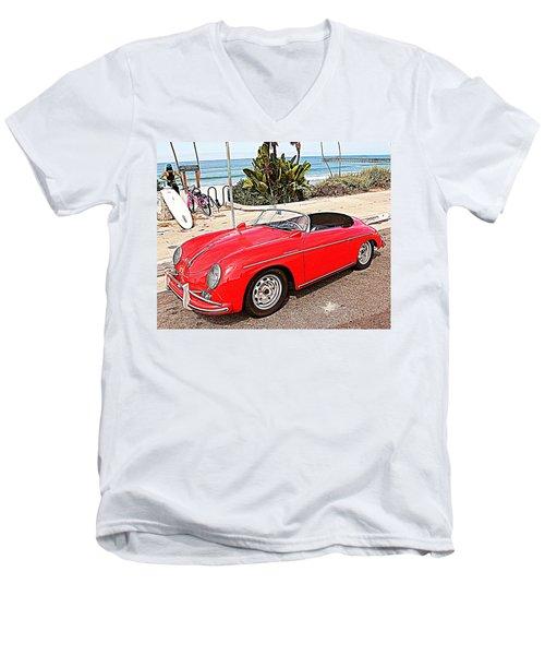 Socal Speedster Men's V-Neck T-Shirt