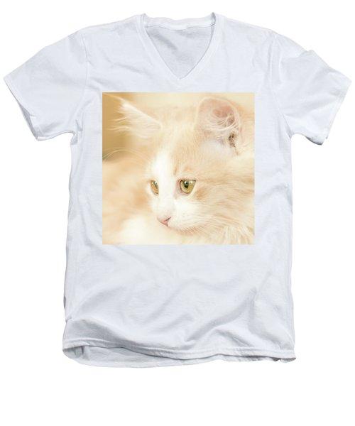 Soft And Dreamy Men's V-Neck T-Shirt