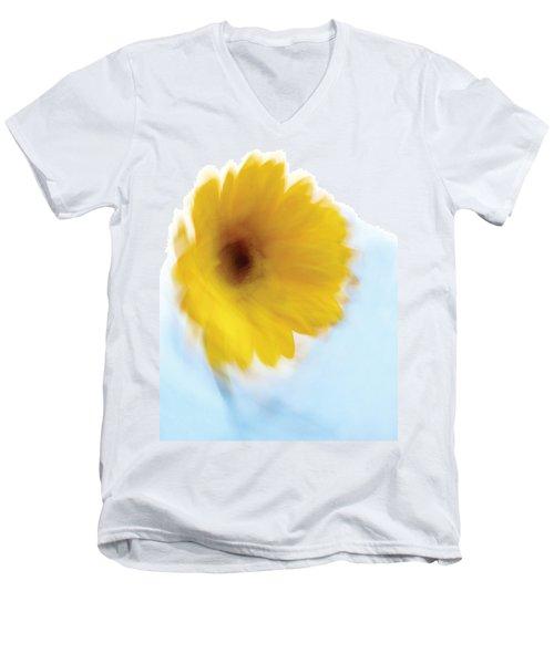 Soft Radiance Men's V-Neck T-Shirt