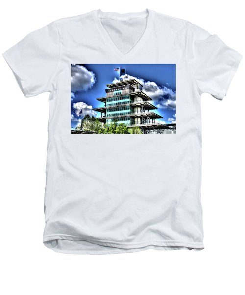 Some Cloudy Day Men's V-Neck T-Shirt
