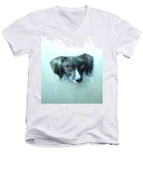 Someones Pet Men's V-Neck T-Shirt
