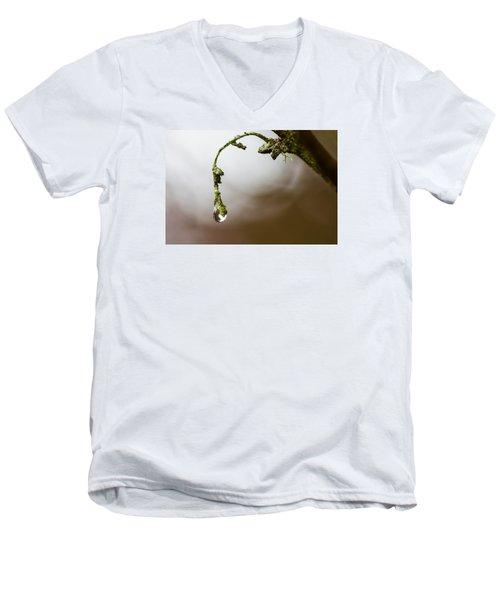 Sometimes It's Hard To Let Go Men's V-Neck T-Shirt by Mark Alder