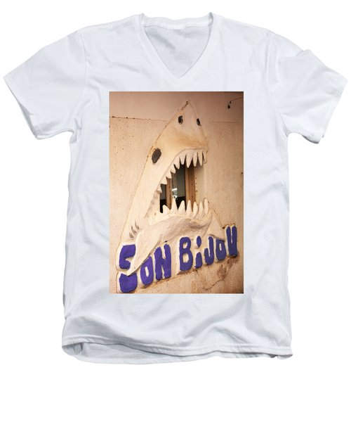 Sonbijou Men's V-Neck T-Shirt by Jez C Self