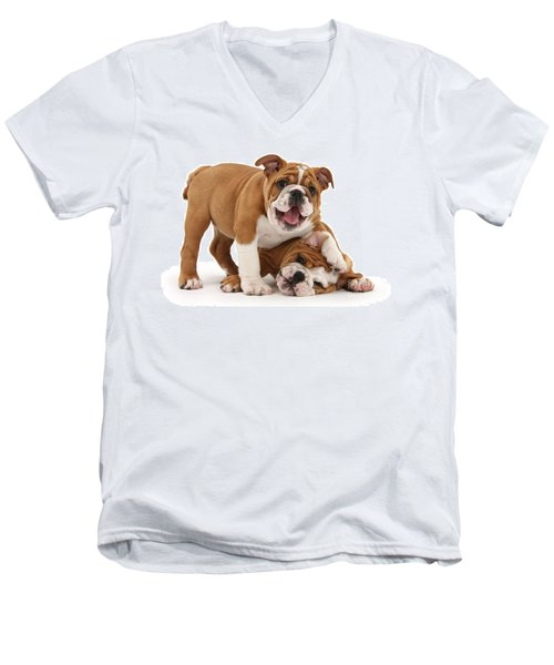 Sorry, Didn't See You There Men's V-Neck T-Shirt