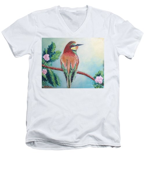 Southern Bee-eater Men's V-Neck T-Shirt