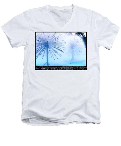 Southern California Fountains Men's V-Neck T-Shirt