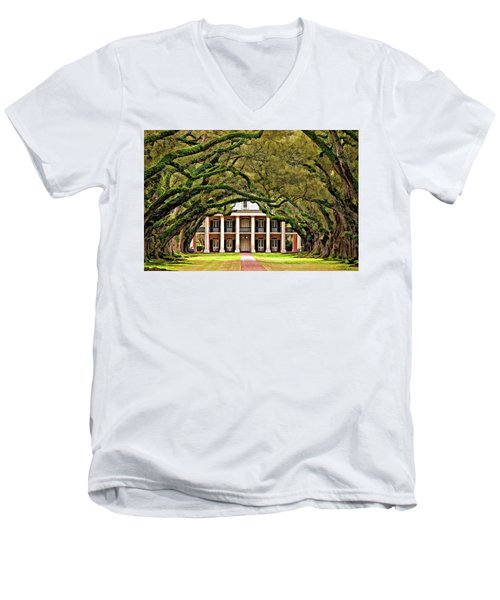 Southern Class Painted Men's V-Neck T-Shirt