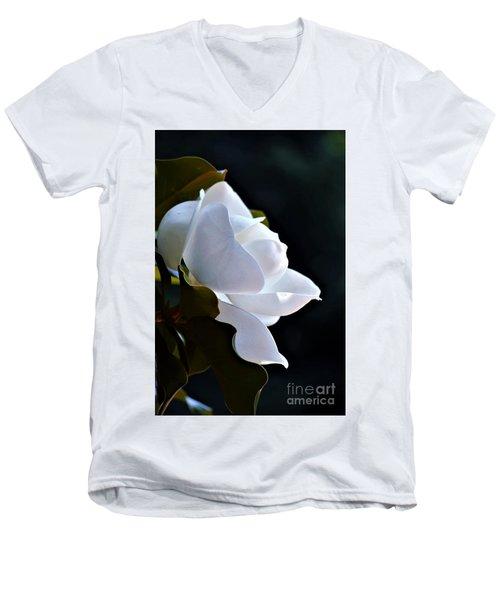 Southern Magnolia Profile Men's V-Neck T-Shirt