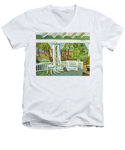 Southern Porches Men's V-Neck T-Shirt