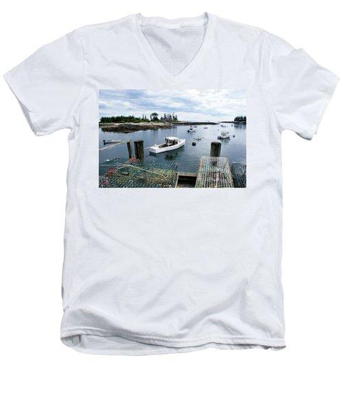 Southport Maine Men's V-Neck T-Shirt