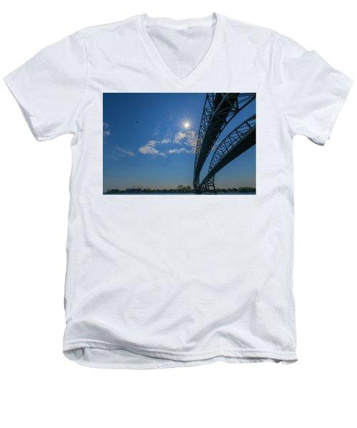 Spacious Skies Men's V-Neck T-Shirt