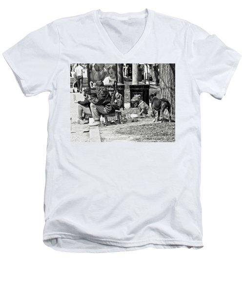 Spare Change Men's V-Neck T-Shirt