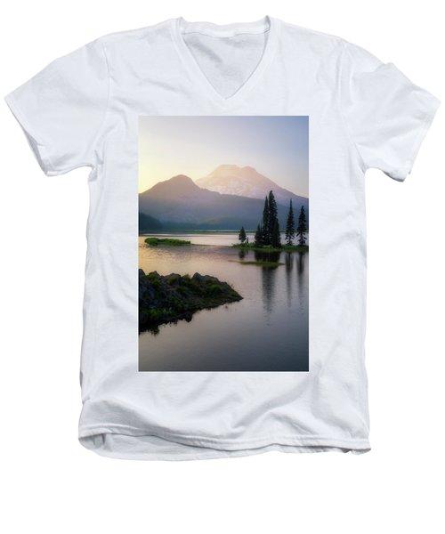Spark Of Light Men's V-Neck T-Shirt