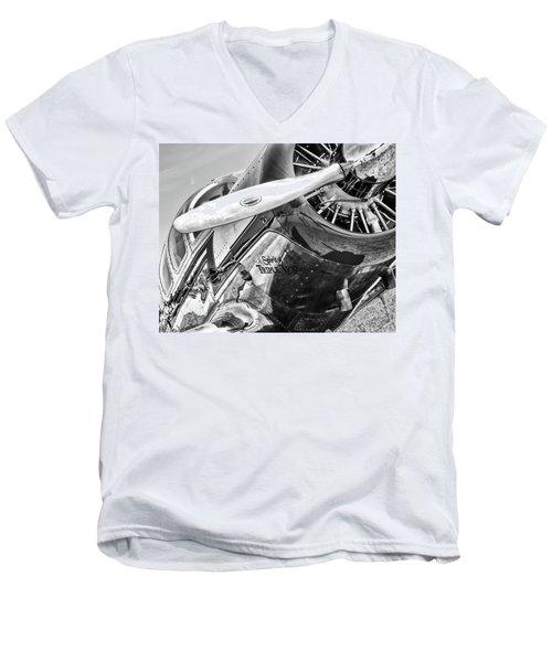 Spartan Men's V-Neck T-Shirt