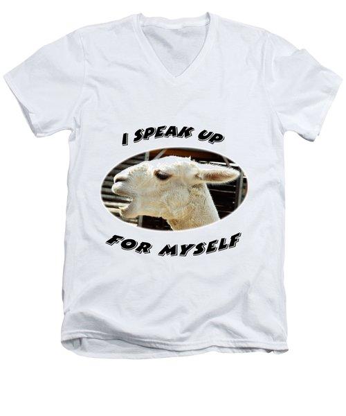 Speak Up Men's V-Neck T-Shirt