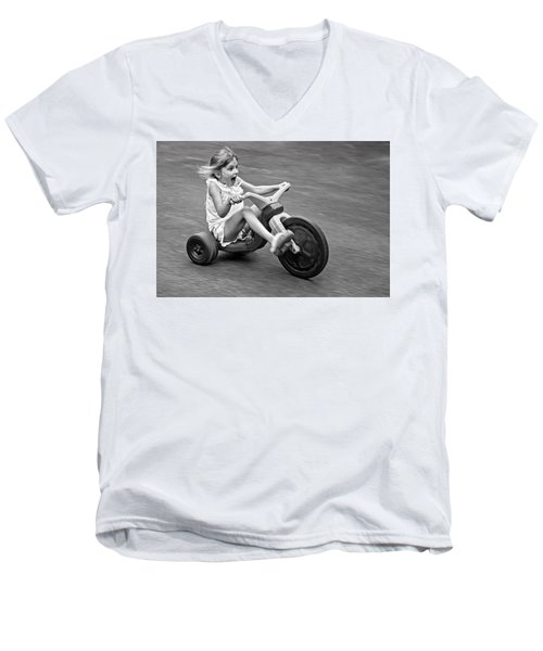 Speed Men's V-Neck T-Shirt