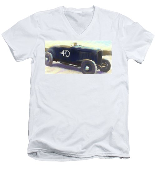 Speed Run Men's V-Neck T-Shirt