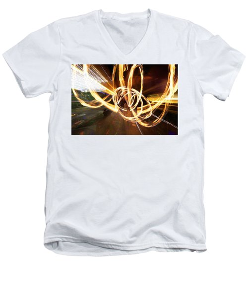 Speed Spin Men's V-Neck T-Shirt